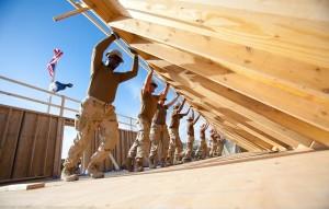 teamwork-bouwvakkers